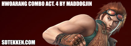 Maddogjin S New Combo Video Sdtekken Com Tekken News Resource
